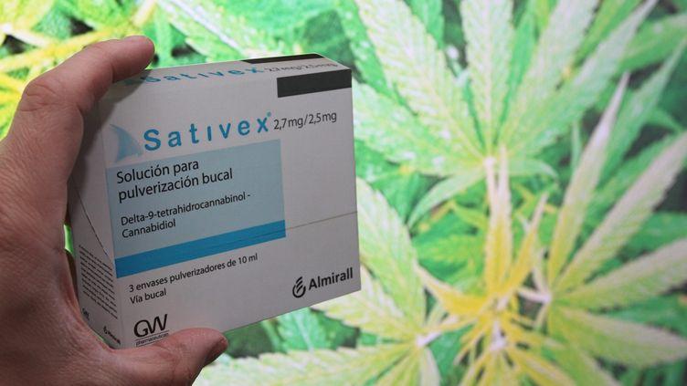Le Sativex est le seul médicament à base de cannabis autorisé en France. Pour le moment ? (JEAN FRANCOIS FREY / MAXPPP)
