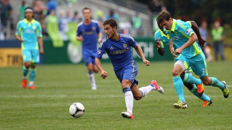 Eden Hazard avec Chelsea (OTTO GREULE JR / GETTY IMAGES NORTH AMERICA)
