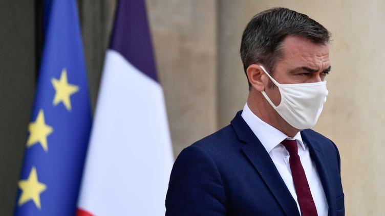 Le ministre de la Santé Olivier Véran après le Conseil des ministres du mercredi 23 septembre 2020. (JULIEN MATTIA / ANADOLU AGENCY / AFP)