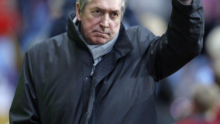 Gérard Houllier, à Birmingham, en Angleterre, le 11 décembre 2010. (IAN KINGTON / AFP)