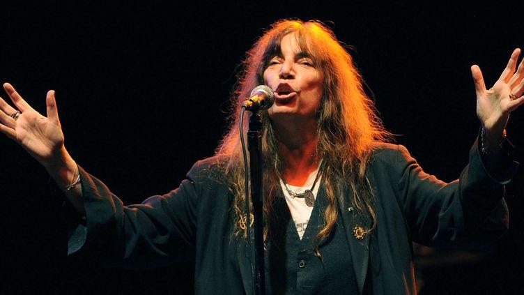 Patti Smith à Los Angeles le 12/10/12  (Chris Pizzello/AP/SIPA)