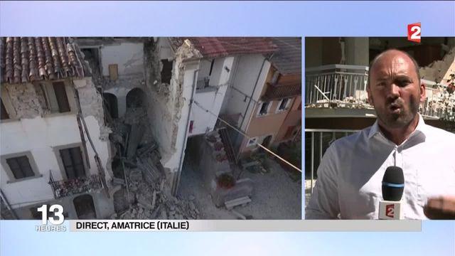 """Séisme en Italie : """"40 millions d'Italiens sont exposés"""" aux risques de tremblement de terre"""