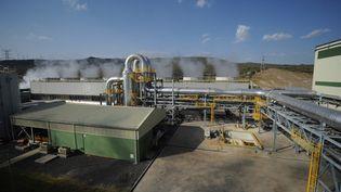 Le complexe géothermique de Naivasha, au nord-ouest de Nairobi, a propulsé le Kenya au 7e rang mondial des producteurs d'électricité géothermique. (TONY KARUMBA / AFP)