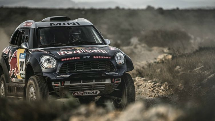 Nasser Al-Attiyah est l'un des favoris du Dakar 2015 au volant de sa Mini All 4 Racing