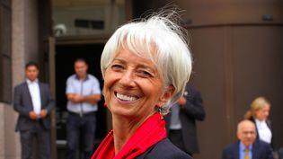 La directrice du FMIChristine Lagarde, le 9 septembre 2015 à Tunis (Tunisie). (HAMMI MOHAMMED / SIPA)