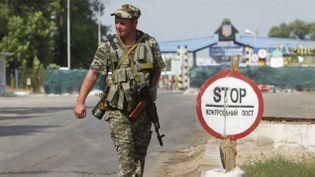 (La frontière entre la Russie et l'Ukraine près de Kharkiv © REUTERS  Valentyn Ogirenko)