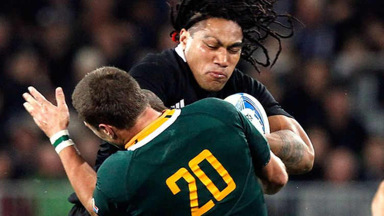 Johan Goosen (Afrique du Sud) (MARTY MELVILLE / AFP)