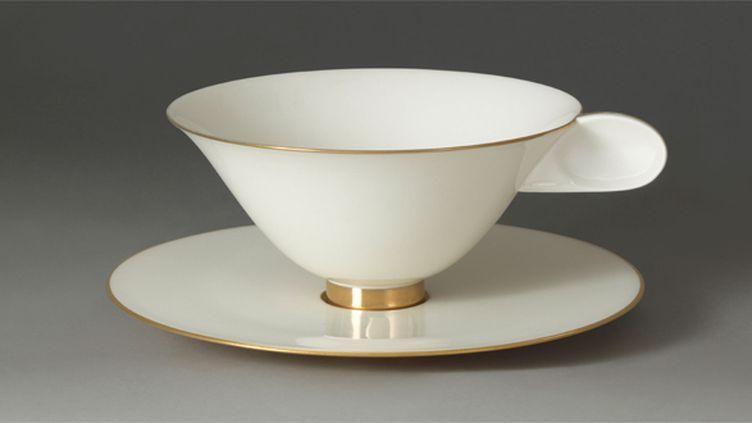 La tasse à café de Jacques-Emile Ruhlmann (1879-1933)  (RMN-Grand Palais (Sèvres, Cité de la céramique) )