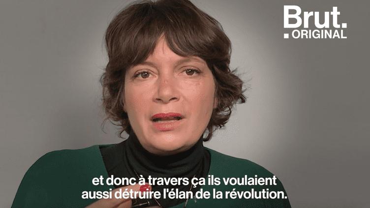 Le viol en Syrie, « une arme de destruction de la femme et de la société » pour Manon Loizeau (BRUT)