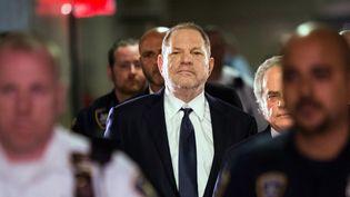 L'ex producteur de cinéma Harvey Weinstein, le 5 juin 2018 à New York. (EDUARDO MUNOZ ALVAREZ / AFP)