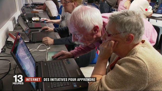 """Internet : des initiatives pour lutter contre l'""""illectronisme"""""""