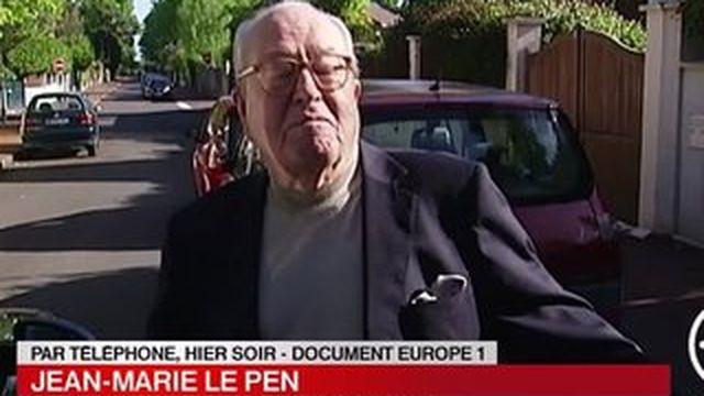 Jean-Marie Le Pen ne souhaite plus que sa fille s'appelle Le Pen