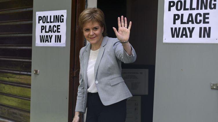 La Première ministre écossaise, Nicola Sturgeon, à Glasgow, jeudi 23 juin 2016. (CLODAGH KILCOYNE / REUTERS)