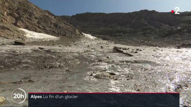 Alpes : le glacier de Sarenne bientôt disparu