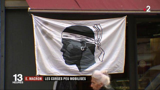 Corse : les habitants peu mobilisés pour la venue d'Emmanuel Macron