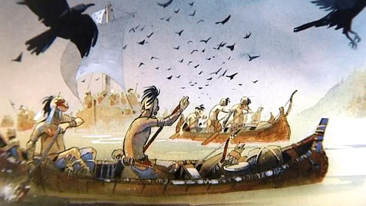 """""""Iroquois"""" de Patrick Prugne se classe parmi les meilleures ventes de BD de la rentrée  (Culturebox / Capture d'écran)"""
