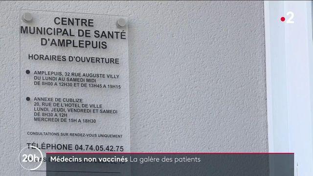 Covid-19 : la colère des patients devant les médecins ne pouvant plus exercer