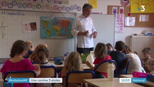 Haute-Loire : un chef étoilé transmet le plaisir de bien manger aux enfants