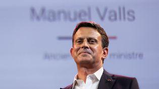 L'ancien premier ministre Manuel Valls, à Nogent-sur-Marne, le 3 juillet 2021. (GEORGES GONON-GUILLERMAS / HANS LUCAS / AFP)