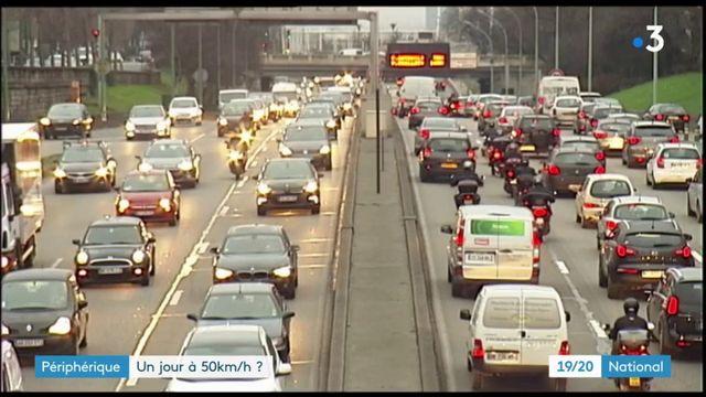 Périphérique parisien : une limitation à 50 km/h ?