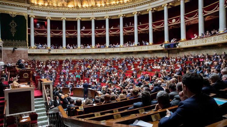 Une séance de questions au gouvernement à l'Assemblée nationale, à Paris, le 29 mai 2018. (MAXPPP)