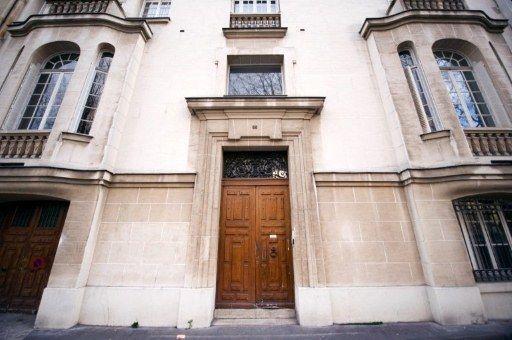 Le siège de campagne de François Hollande avenue de Ségur (Paris VIIe) (AFP/LIonel Bonaventure)