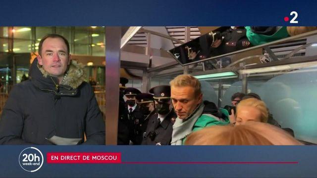 Russie : l'opposant Alexeï Navalny a été arrêté dès son retour à Moscou