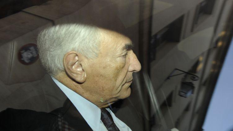 Dominique Strauss-Kahn, ici en septembre 2011,a été mis en examen dans le cadre du Carlton de Lille, le 26 mars 2012, à Lille. (GONZALO FUENTES / REUTERS)