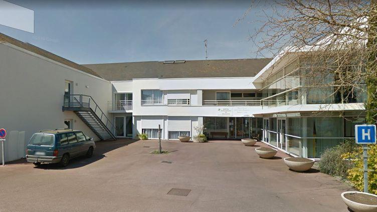 Capture d'écran Google Street View de la maison de retraite dePaimbœuf, en Loire-Atlantique. (GOOGLE MAPS)