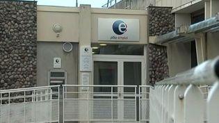 L'agence ANPE de Bayeux (Calvados) où a eu lieu l'agression, le 28 octobre 2013. ( FRANCE 3 / FRANCETV INFO)