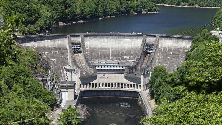 Barrage hydroélectrique de Chastang (Corrèze). (GUY CHRISTIAN / HEMIS.FR RM)