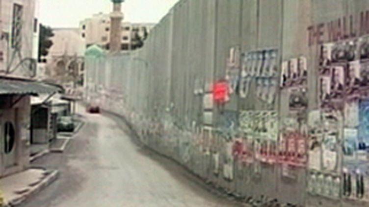 Le mur israélien (© France 2)