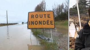Olonzac : le village particulièrement touché par les pluies diluviennes (FRANCE 2)