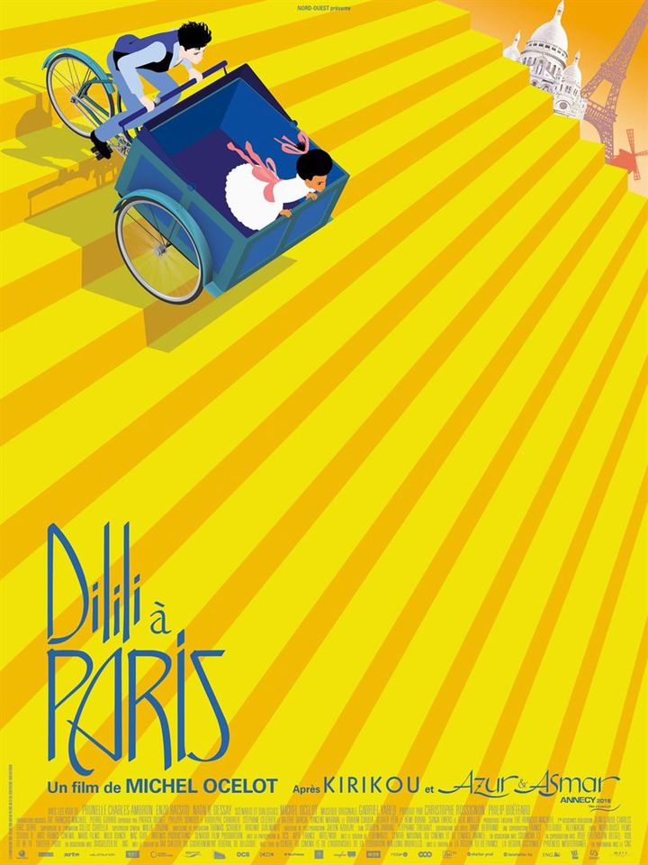"""""""Dilili à Paris"""" : l'affiche  (Mars Films)"""