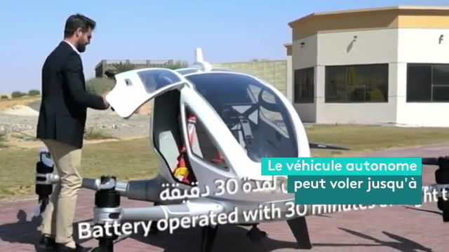 module dubai taxi drone