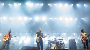 Les Pixies aux Eurockéennes le 4 juillet 2014  (Sébastien Bozon/AFP)