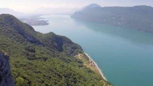 Le lac du Bourget. (CAPTURE D'ÉCRAN FRANCE 2)