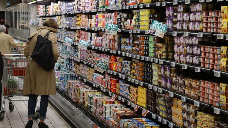 Illustration supermarché. (PASCAL PAVANI / AFP)