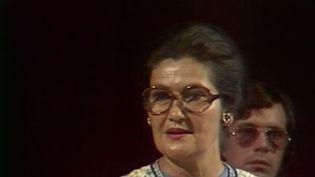 Simone Veil était une militante européenne convaincue. En 1979, elle fut la première femme élue présidente du Parlement européen. (France 3)
