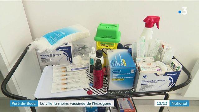 Covid-19 : Port-de-Bouc, ville la moins vaccinée de France