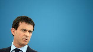 Manuel Valls en juin 2014. (DOMINIQUE FAGET / AFP)