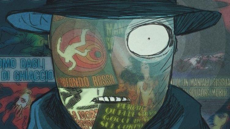"""""""Mind-Minuit"""" : 1re de couverture (détail) - Massimo Semerano  (Dupuis)"""