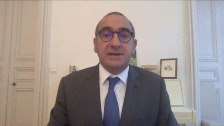 Laurent Nuñez, coordonnateur national du renseignement et de la lutte contre le terrorisme, dimanche 18 octobre 2020. (FRANCEINFO / RADIO FRANCE)