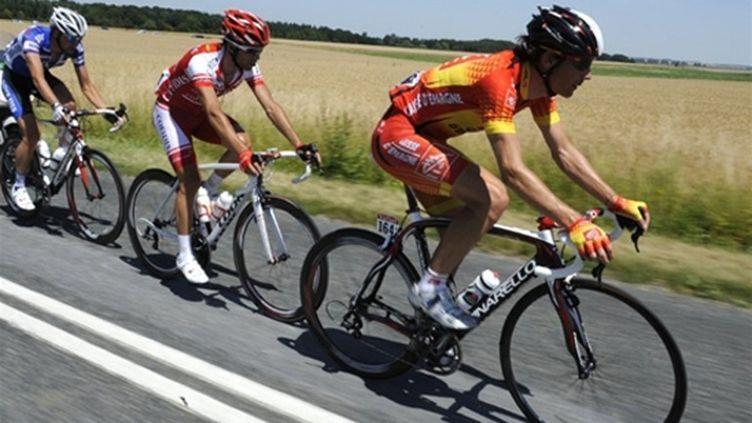 Gutierrez, El Farès et Van De Walle ont animé l'étape entre Epernay et Montargis