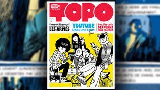 Numéro 1 de Topo, revue d'actu en BD pour les moins de 20 ans