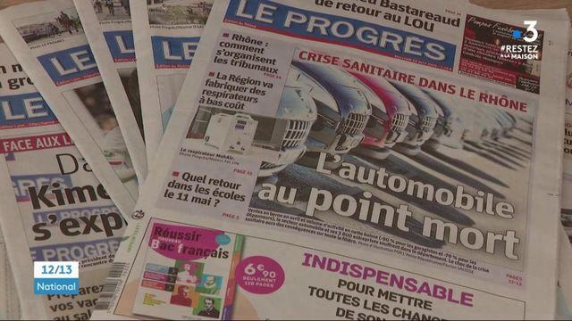 Presse quotidienne régionale : le défi compliqué des journalistes confinés