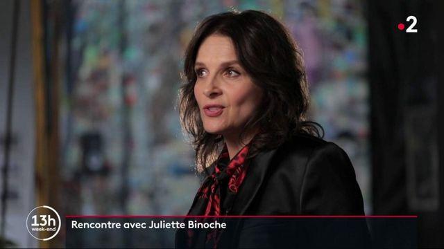 Culture : rencontre avec l'actrice Juliette Binoche