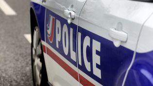 Une voiture de police, le 4 février 2021 à Montbéliard (Doubs). (MAXPPP)