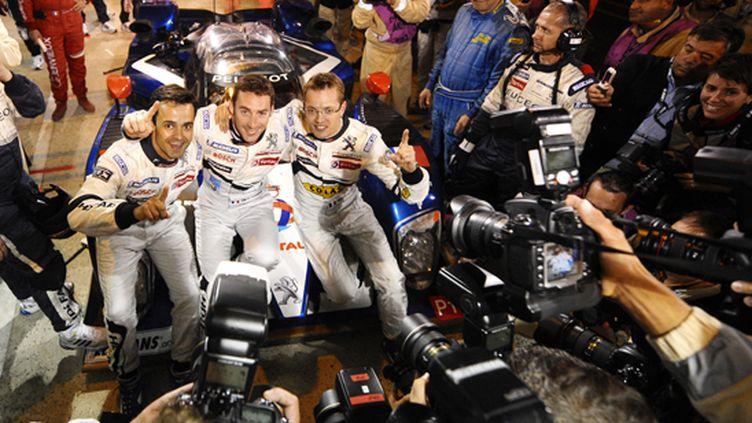 C'est la pole pour la Peugeot de Bourdais, Lamy et Pagenaud