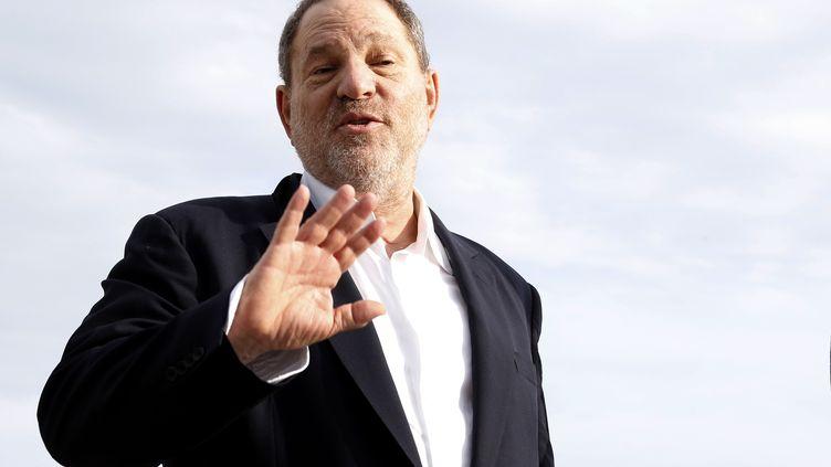 Le producteur Harvey Weinstein, le 5 octobre 2015, à Cannes (Alpes-Maritimes). (VALERY HACHE / AFP)